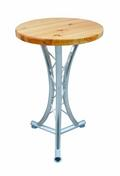 Мебель Alutruss ALUTRUSS Bistro table, 3 feet curved