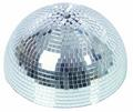 Зеркальные шары Eurolite Half mirror ball 30cm with safety-motor