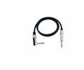Кабель готовый Steinigke Cable 6,3 plug to 6,3 plug 90° 1,5m black